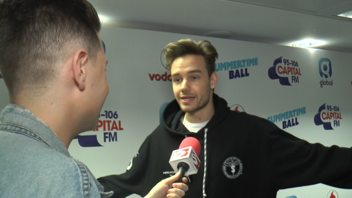 Interviewing Liam Payne