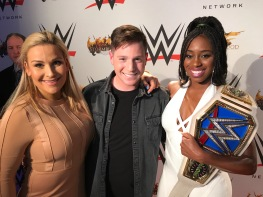 With the WWE Superstars