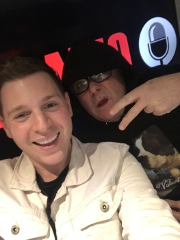 Josh with Paul Ross on talkRADIO