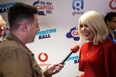 at Capital FM's Summertime Ball 2018 with Vodafone at Wembley Stadium on the 9th June 2018 BANG MEDIA INTERNATIONAL FAMOUS PICTURES 28 HOLMES ROAD LONDON NW5 3AB UNITED KINGDOM tel +44 (0) 20 7485 1005 e-mail pictures@famous.uk.com