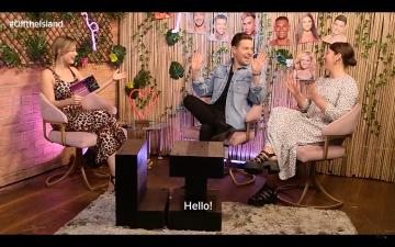 Josh on the 'Off The Island' Panel