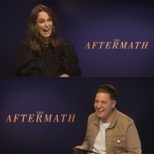 Lots of laughs with Keira Knightley