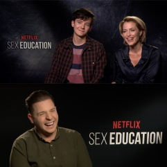 Laughs with the cast of Sex Education