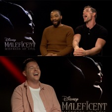 Chatting with the guys from Maleficent Mistress of Evil