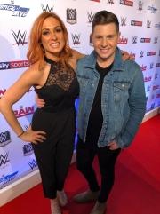 Interviewing WWE's Becky Lynch