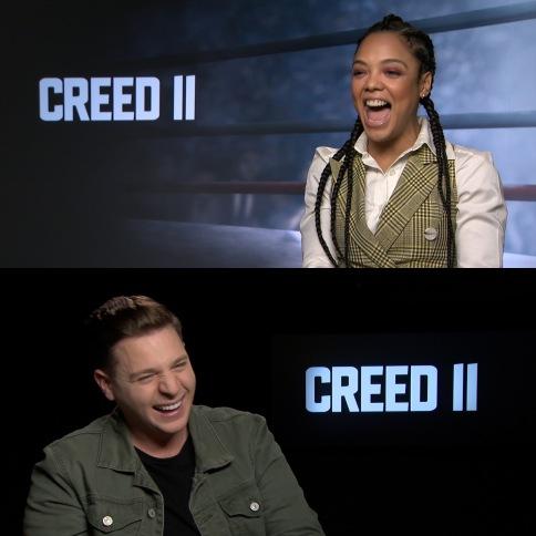 Interviewing megastar Tessa Thompson for Creed II