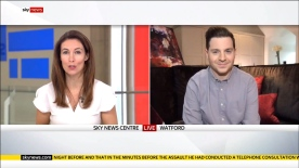 Josh Appearing on Sky News to discuss the Daytime Emmy Awards 2020